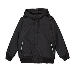 Debenhams - Boy's black school bomber jacket