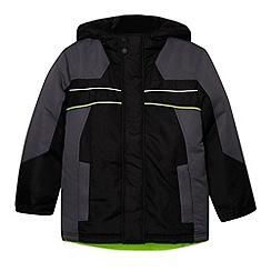 Debenhams - Boy's black 4-in-1 school jacket