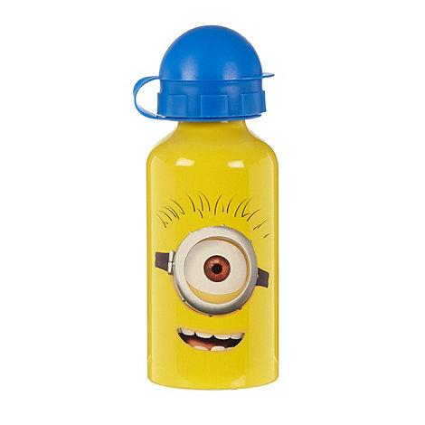 Disney - Yellow metal +Minions+ school bottle