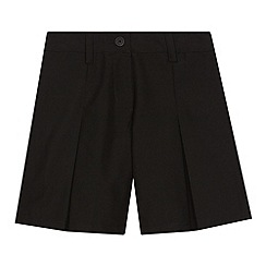 Debenhams - Girl's black school culottes