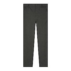 Debenhams - Boy's grey slim fit school trousers