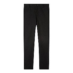 Debenhams - Boy's black slim fit school trousers