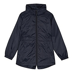 Debenhams - Girl's navy school mac