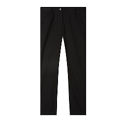 Debenhams - Girl's black skinny school trousers