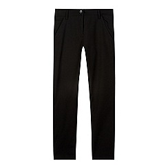 Debenhams - Girl's black skinny leg school trousers