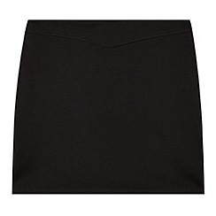Debenhams - Girl's black jersey tube school skirt