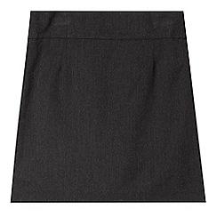 Debenhams - Girl's grey school pencil skirt