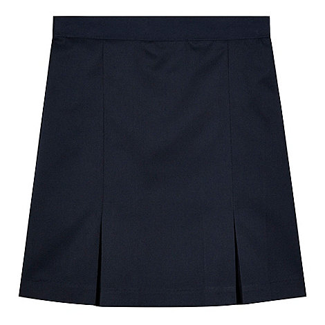 debenhams s navy pleated school skirt debenhams