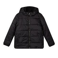 Debenhams - Boy's black padded school coat