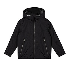 Debenhams - Boy's black fleece lined school coat