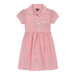 Debenhams - Red gingham print dress