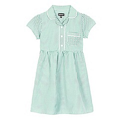 Debenhams - Green gingham print dress