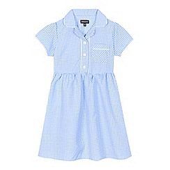 Debenhams - Blue gingham print dress