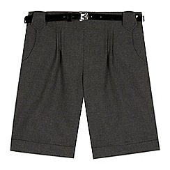 Debenhams - Girls' grey shorts