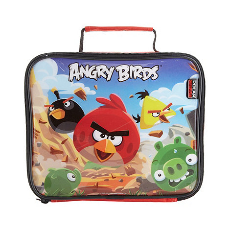 Angry birds - Boy+s red +Angry Birds+ lunch bag