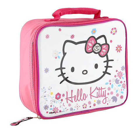 Hello Kitty - Girls pink +Hello Kitty+ lunch bag