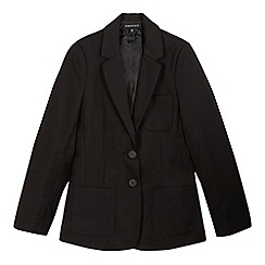 Debenhams - Girls' black school blazer