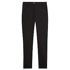 Debenhams - Girls' black skinny school trouser