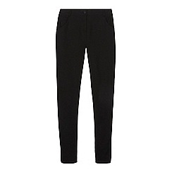 Debenhams - Girl's black bengaline belted school trousers