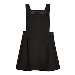 Debenhams - Girls' black traditional school dress