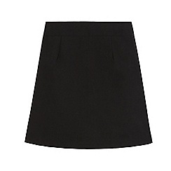 Debenhams - Girls' black pencil school skirt