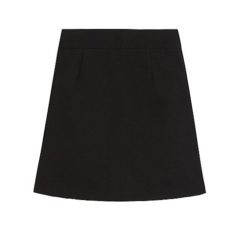 Debenhams Senior girls' black pencil school skirt | Debenhams