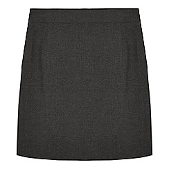 Debenhams - Girls' grey pencil school skirt
