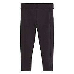 Debenhams - Girls' black yoga leggings