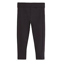 Debenhams - Girls' black leggings