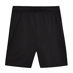 Debenhams - Boys' black football shorts