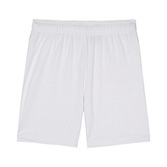 Debenhams - Boys' white football shorts