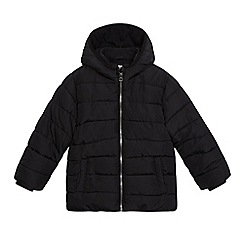 Debenhams - Boys' black shower resistant coat