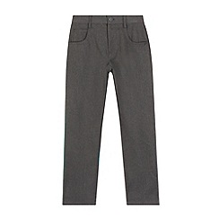 Debenhams - Boys' grey slim school trousers
