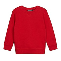 Debenhams - Children's red school sweater