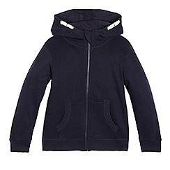 Debenhams - Children's navy hoodie