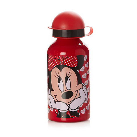 Minnie Mouse - Girl+s red aluminium +Minnie Mouse+ drinks bottle