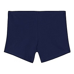 Debenhams - Boys' navy trunks