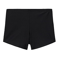 Debenhams - Boys' black trunks
