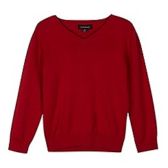 Debenhams - Red school jumper