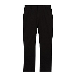 Debenhams - Boys' black skinny fit school trousers