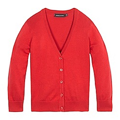 Debenhams - Red V neck cardigan