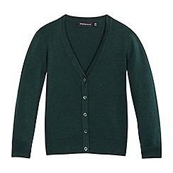 Debenhams - Green V neck cardigan