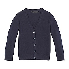 Debenhams - Navy V neck cardigan