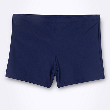 Debenhams - Boy+s navy essential swimming trunks