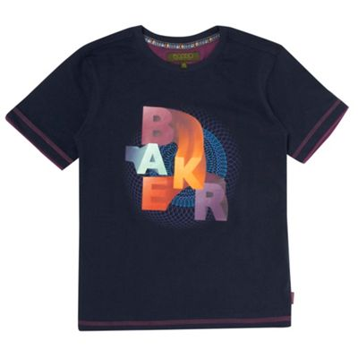 Boys Navy T Shirt