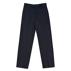 Baker by Ted Baker - Boy's navy four pocket trousers