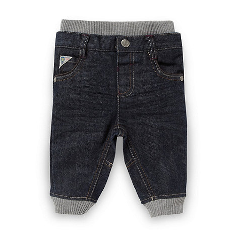 Baker by Ted Baker - Babies blue ribbed waist jeans