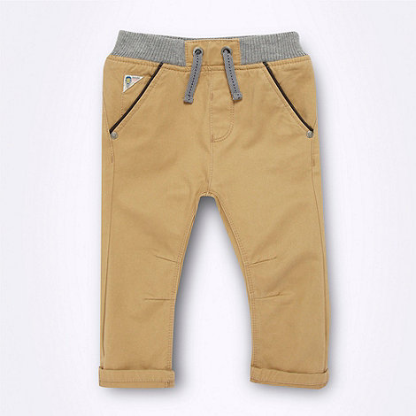 Baker by Ted Baker - Babies natural rib trimmed chinos