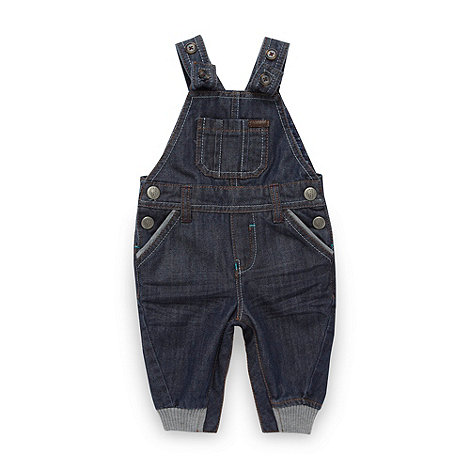 Baker by Ted Baker - Babies blue denim dungarees