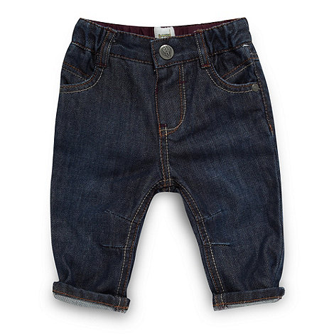 Baker by Ted Baker - Babies blue twisted peg leg jeans